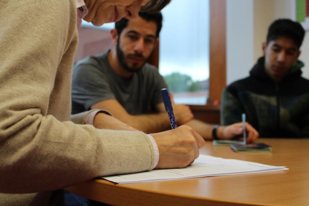 Youssef kommt in die Schule (4/6)