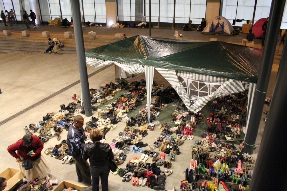 Flüchtlingskrise am Keleti-Bahnhof in Budapest (4/6)