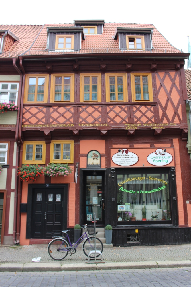 Welterbestadt Quedlinburg in Sachsen-Anhalt (1/3)