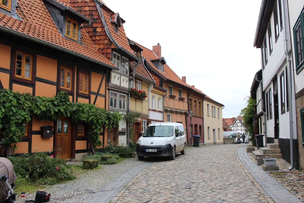 Welterbestadt Quedlinburg in Sachsen-Anhalt (2/3)